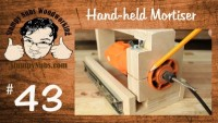 BUILD YOUR OWN HOMEMADE Festool Domino XL DF 500 style mortising machine