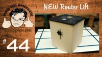 Build your own FEATURE LOADED router lift - also works as a mini router table!