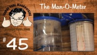 Woodworking dust collection upgrades- MAKE YOUR OWN MANOMETER filter monitor!