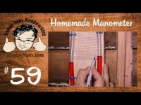 Make a manometer to measure your dust collection filter efficiency and airflow