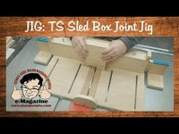 How to cut box/finger joints on our table saw sled jig