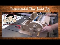 Building a box/finger joint jig with an incremental positioner (Incra I-box style)