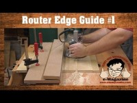 SIMPLE Router Edge Guide #1- Flip-Up style (Rout accurate dados, grooves, rabbets and more!)