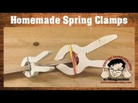 Easy and Cheap Homemade Spring Clamps