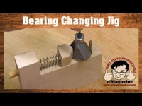 A cool jig for changing your router bit's bearings