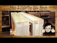 Build a $10 Split-Top Saw Bench for Woodworking