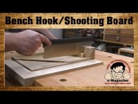 Get AMAZINGLY PRECISE CUTS from this new woodworking bench hook _ shooting board design!