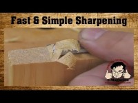 Are your woodworking tools TOO SHARP (How to use just one stone)