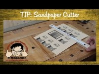 How to make a trimmer for sandpaper sheets