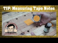 Measuring Tape Note Pad Upgrade