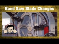Help for awkward band saw blade changes