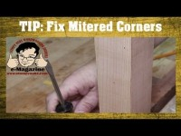 A fast fix for mitered corners