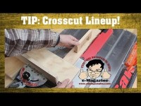 Lining up your crosscuts