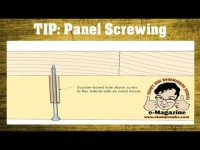 How to keep solid wood tops flat without splitting