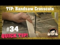 Make FAST and accurate cross cuts on the band saw!