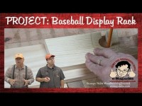 Build A Baseball Memorabilia/Hat Rack! (Weekend Woodworking Project)