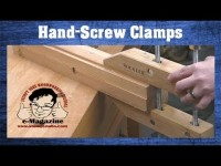 Why do woodworkers still love wooden hand-screw clamps (And how to use them!)