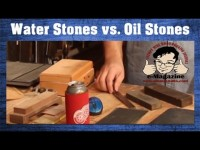 Oil Stones VS. Water Stones - Which should you use for for tool_knife sharpening