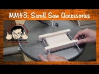 Two Must Have Scroll Saw Accessories: Blade holder/small parts jig