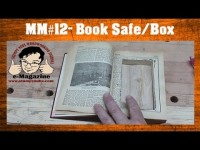 How To Hide Your Workshop Snacks- Make A Hidden Book Safe/Box scroll saw project