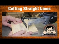 Scroll Saw Lesson #1- How to cut straight lines effectively