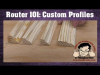 How to make custom molding profiles with just a few basic router bits