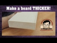 How to make a wooden board appear THICKER!