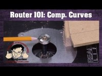 IMPORTANT ROUTER SKILL - Complimentary curves and making positive and negative templates