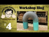 SNW Shop Blog #4- 6' dust collection ductwork tips and TWO CNC machines