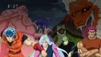 The Battle to Determine the Fate of Mankind!! The Four Beasts VS the Four Heavenly Kings!!