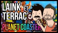 L&T LE PIRE PARC D'ATTRACTION DU MONDE (Planet Coaster)