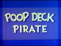 Poop Deck Pirate