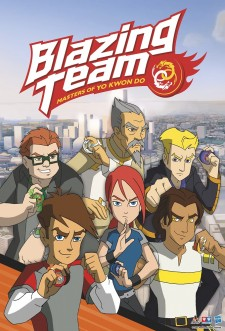 Blazing Team: Masters of Yo Kwon Do saison saison 2