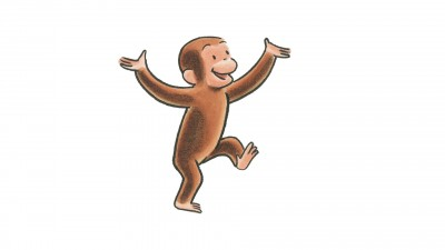 Curious George at the Photographer\'s Studio