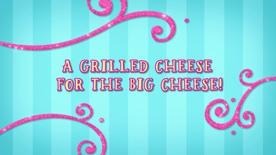 A Grilled Cheese for the Big Cheese!