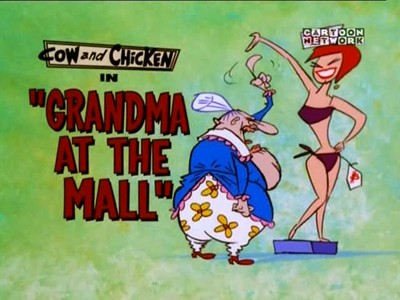 Grandma at the Mall