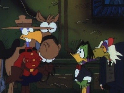 A Mountie Always Gets His Duck