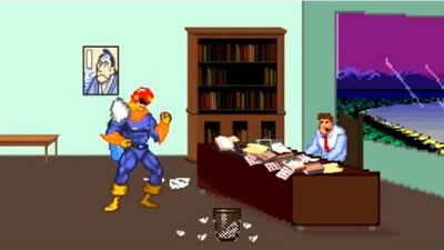 Captain Falcon Can't Get Insurance