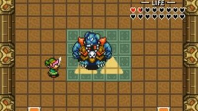 Link Finds Ganon's Weakness