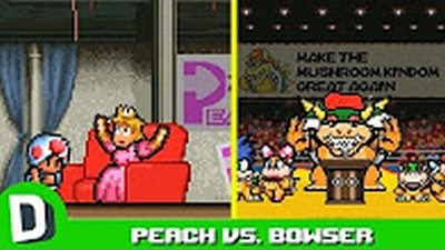 Super Mario Election: Bowser vs. Peach