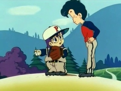 Arale Goes to School