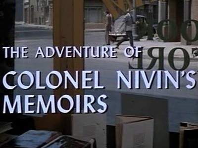 The Adventure of Colonel Nivin's Memoirs