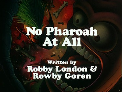 No Pharoah at All