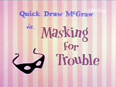 Masking for Trouble
