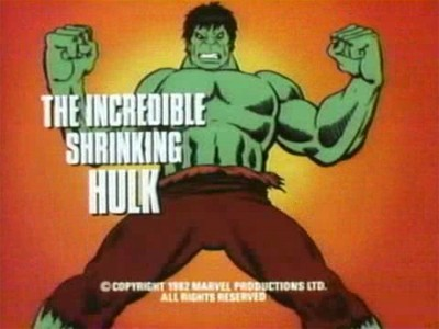 The Incredible Shrinking Hulk