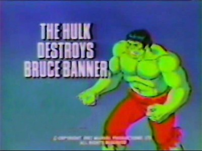 The Hulk Destroys Bruce Banner