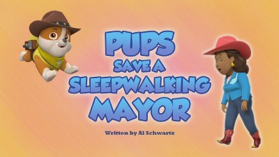 Pups Save a Sleepwalking Mayor