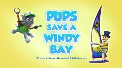 Pups Save a Windy Bay