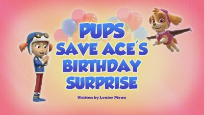 Pups Save Ace's Birthday Surprise