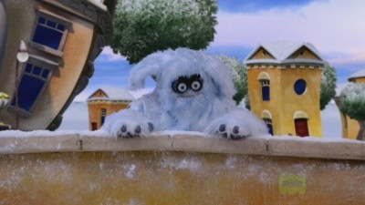 The LazyTown Snow Monster